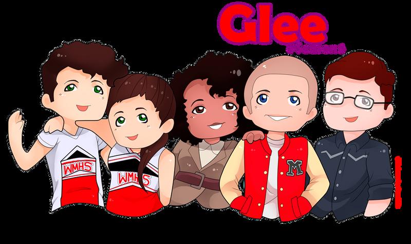 New Cast Glee Club by Desinho on DeviantArt