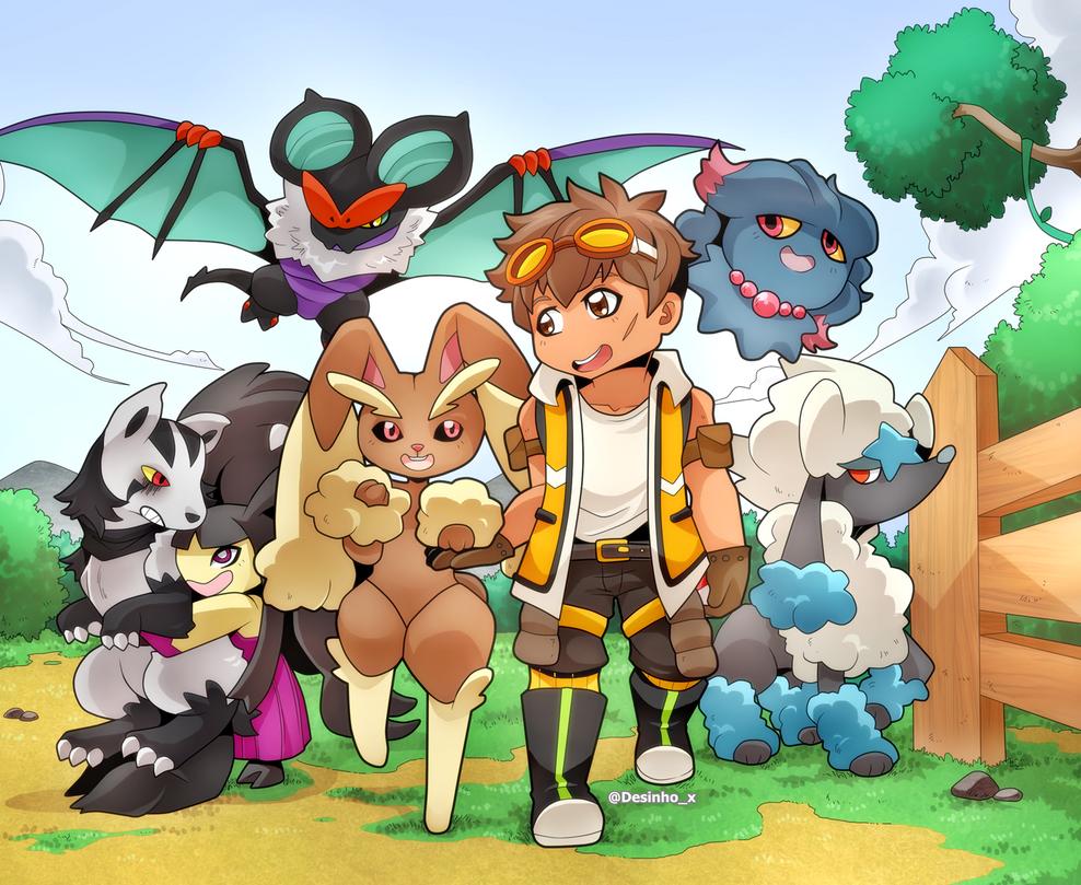 Pokemon Family Fluffyexplorers 619568736