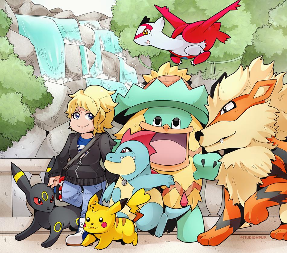 Pokemon Family Roxab 633448431
