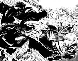 Steven Sanchez - Wolverine 300 Cover Inks