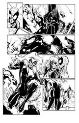 Ramos - Amazing Spider-Man 648 Page 10 Inks by scupbucket