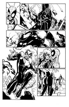 Ramos - Amazing Spider-Man 648 Page 10 Inks