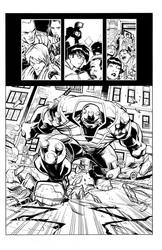 Khary Randolph - Spawn 198 Page 14 Sample Inks by scupbucket