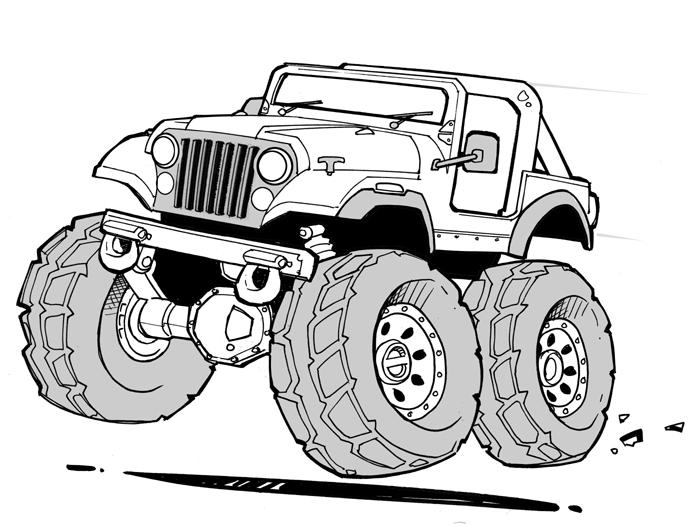 Line Drawing Jeep : Jeep by scupbucket on deviantart