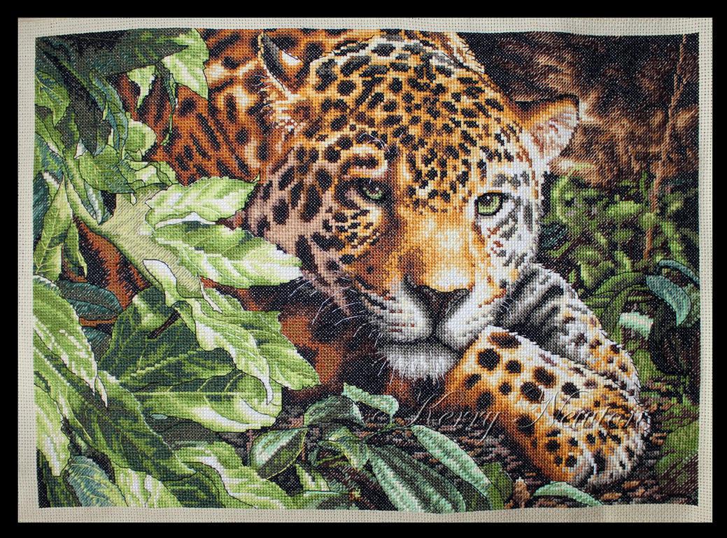 Leopard in Repose by KezzaLN