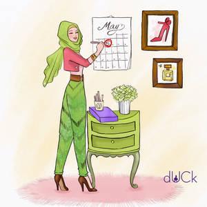 DuckScarves illustration