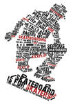 typography on skater's convo