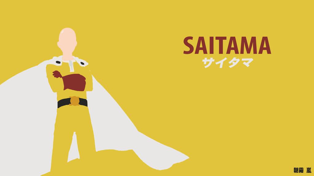 One punch man saitama minimalist by asagiriarashi on - Funny one punch man wallpaper ...