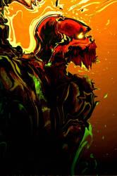 Red skull by erie-1