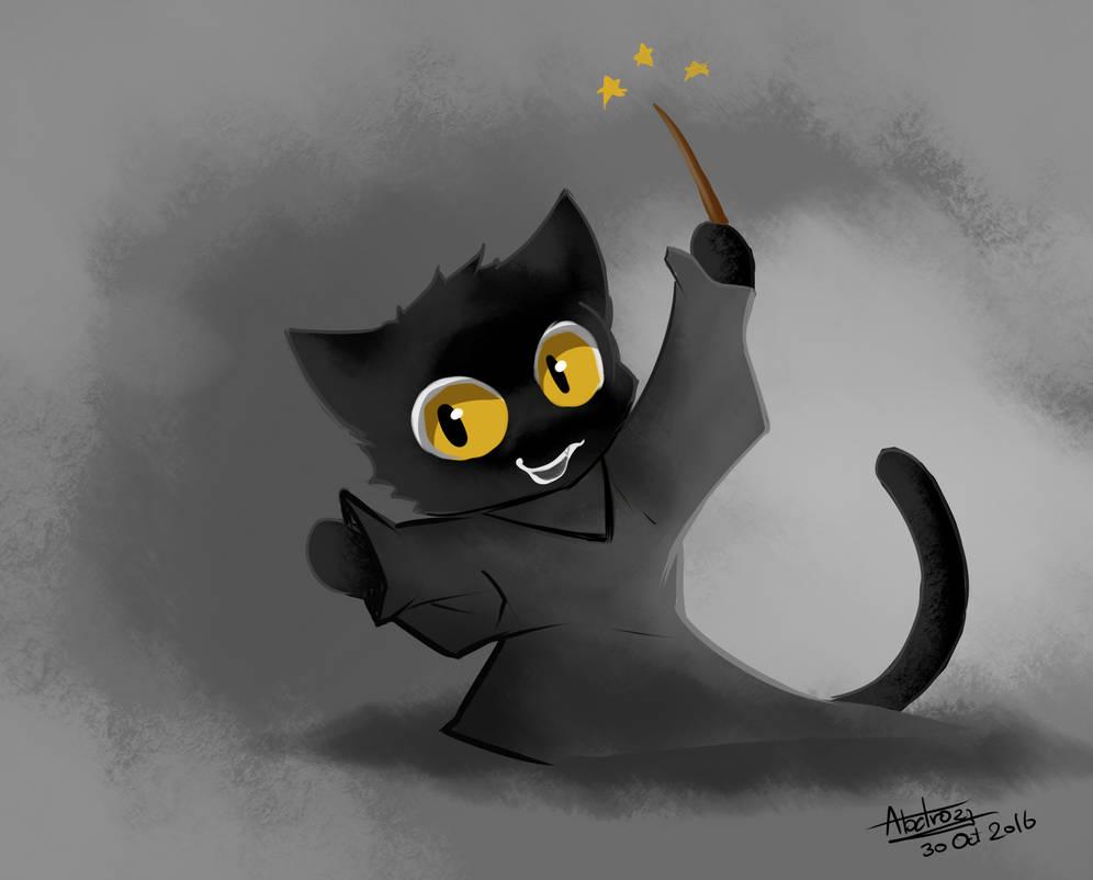 fanart google doodle halloween black cat by abatrozz on deviantart google doodle halloween black cat by