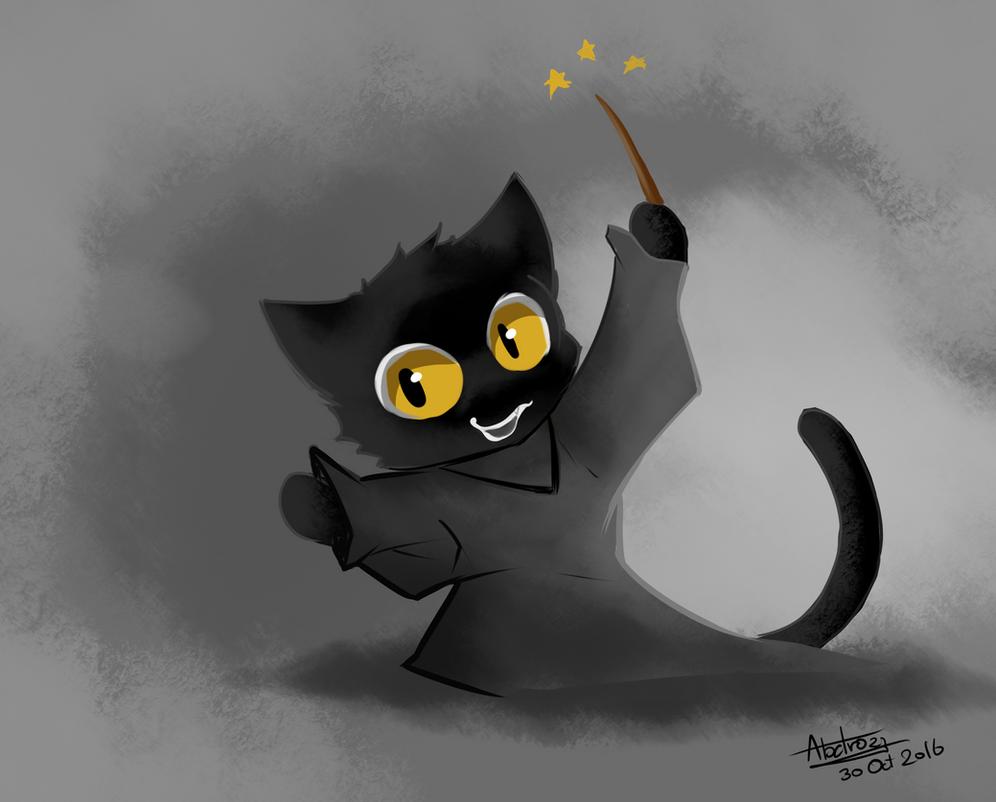Cat Game Google Halloween