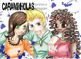 Poster Caraminholas Colorido by sakuraboys-bruno