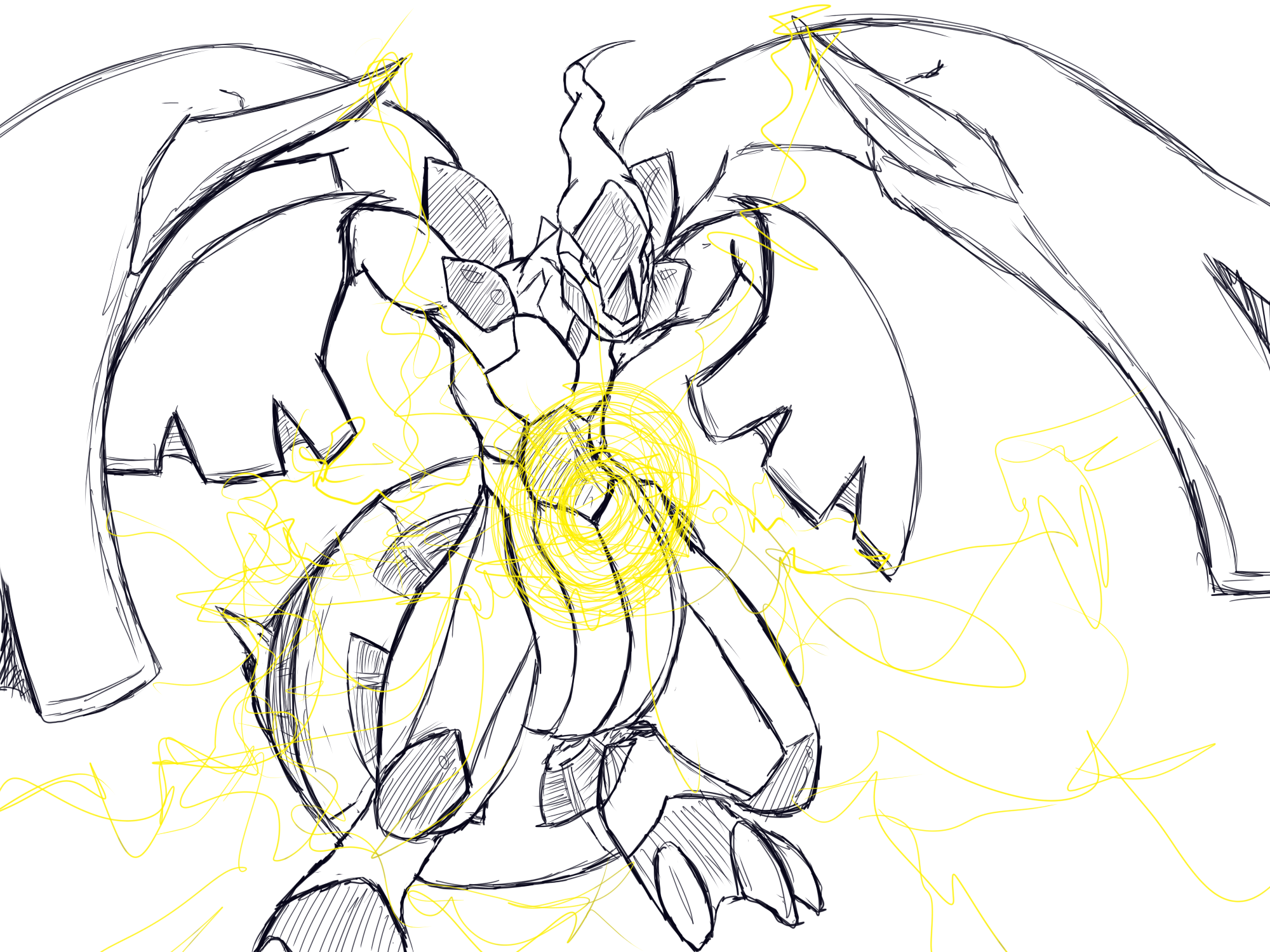 coloring pages pokemon zekrom x - photo#31
