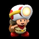Captain Toad Transparent