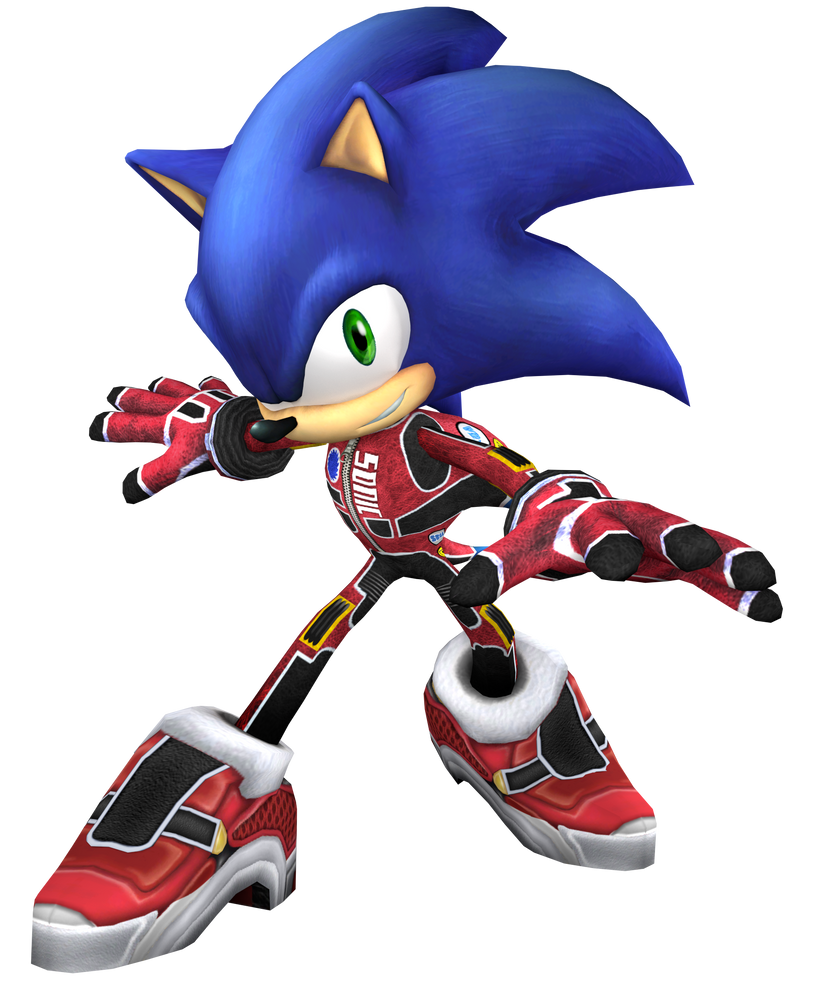 Racing Suit Sonic by Mach-7