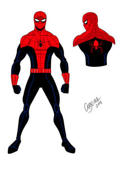 Spider-man new outfit!