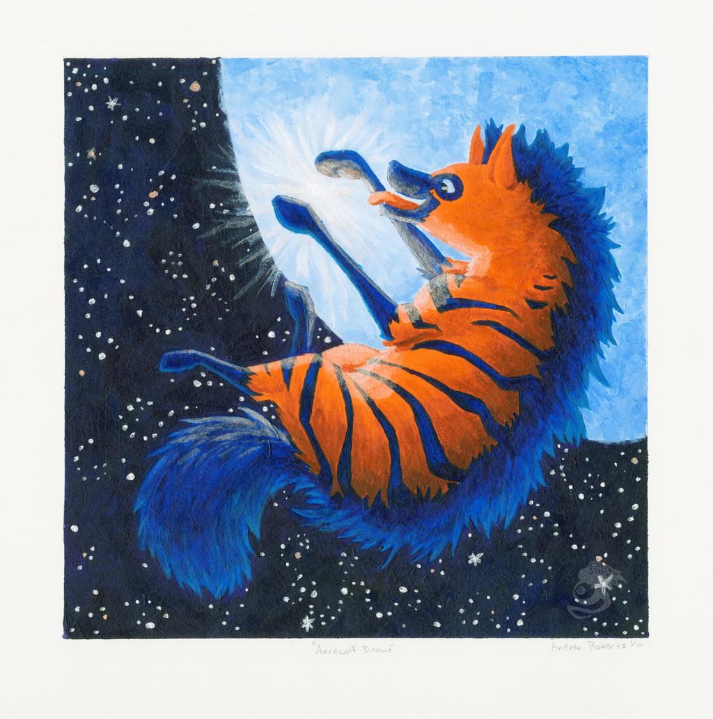 Aardwolf Dreams by Oddstuffs