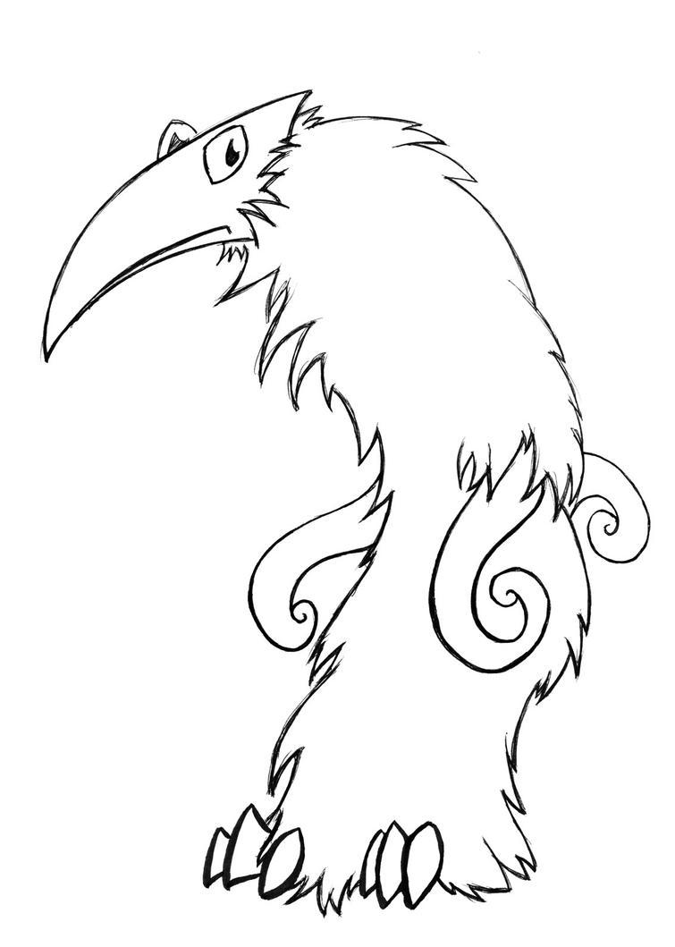 Ralph Monster Inks by Oddstuffs