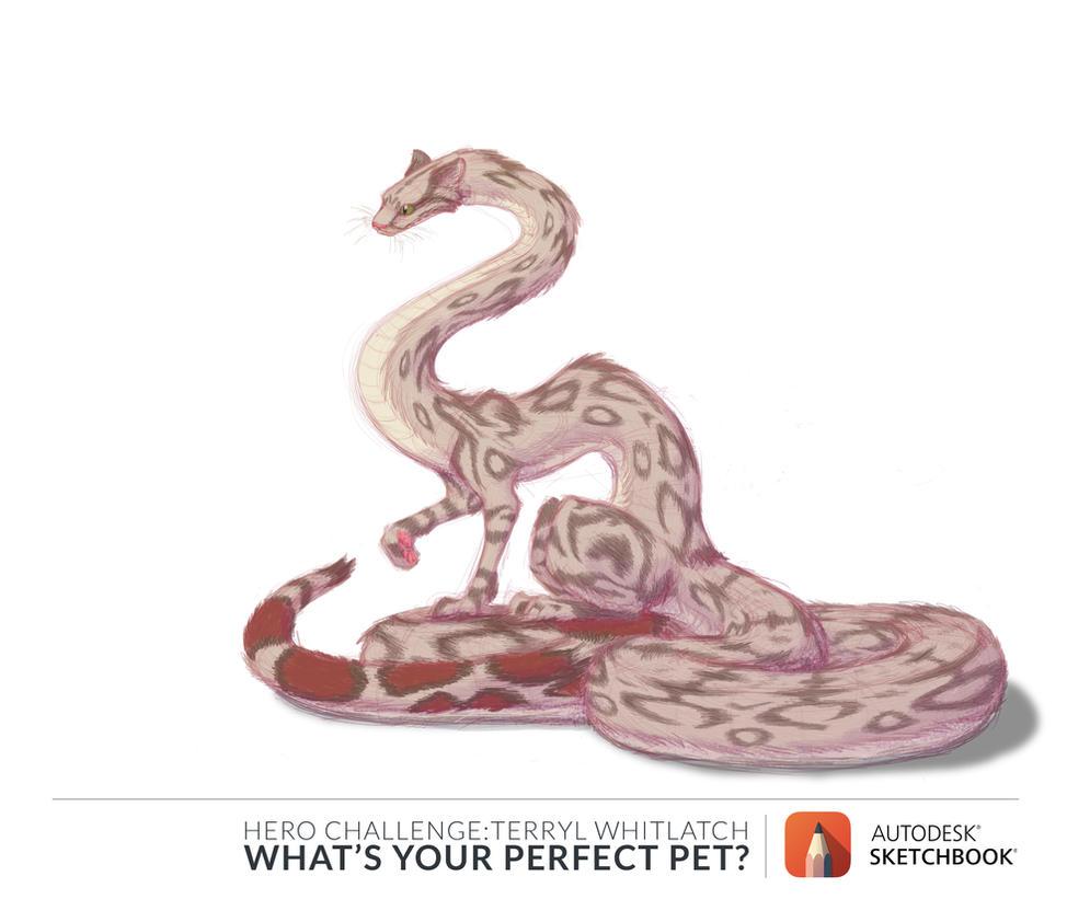 Cat-Snake by Oddstuffs