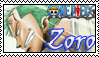 Zoro stamp by Okami-Moony