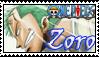 Zoro stamp by Okami-Moony