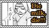 Eddie hates milk stamp by Okami-Moony