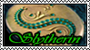 Slytherin stamp by Okami-Moony