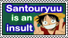 Santouryuu stamp by Okami-Moony