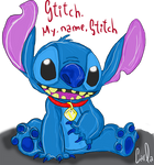 My name Stitch