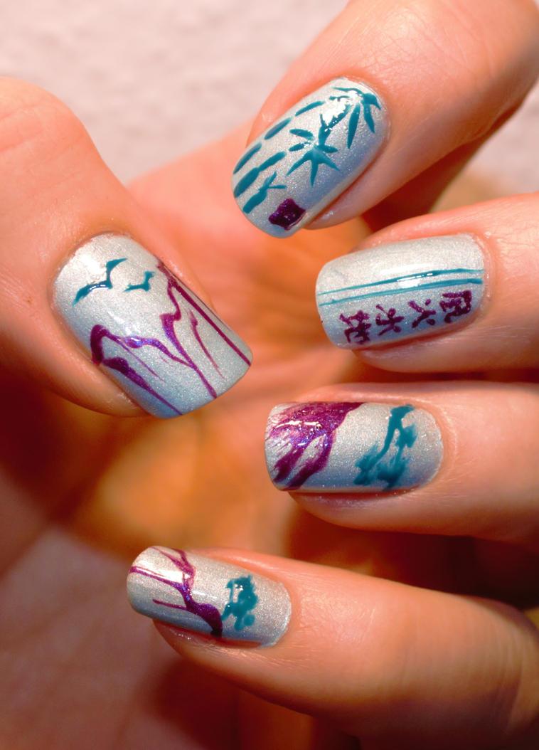Nail Art 126 by Saphiel89