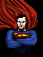 Man of Steel by cesarmascarenhas