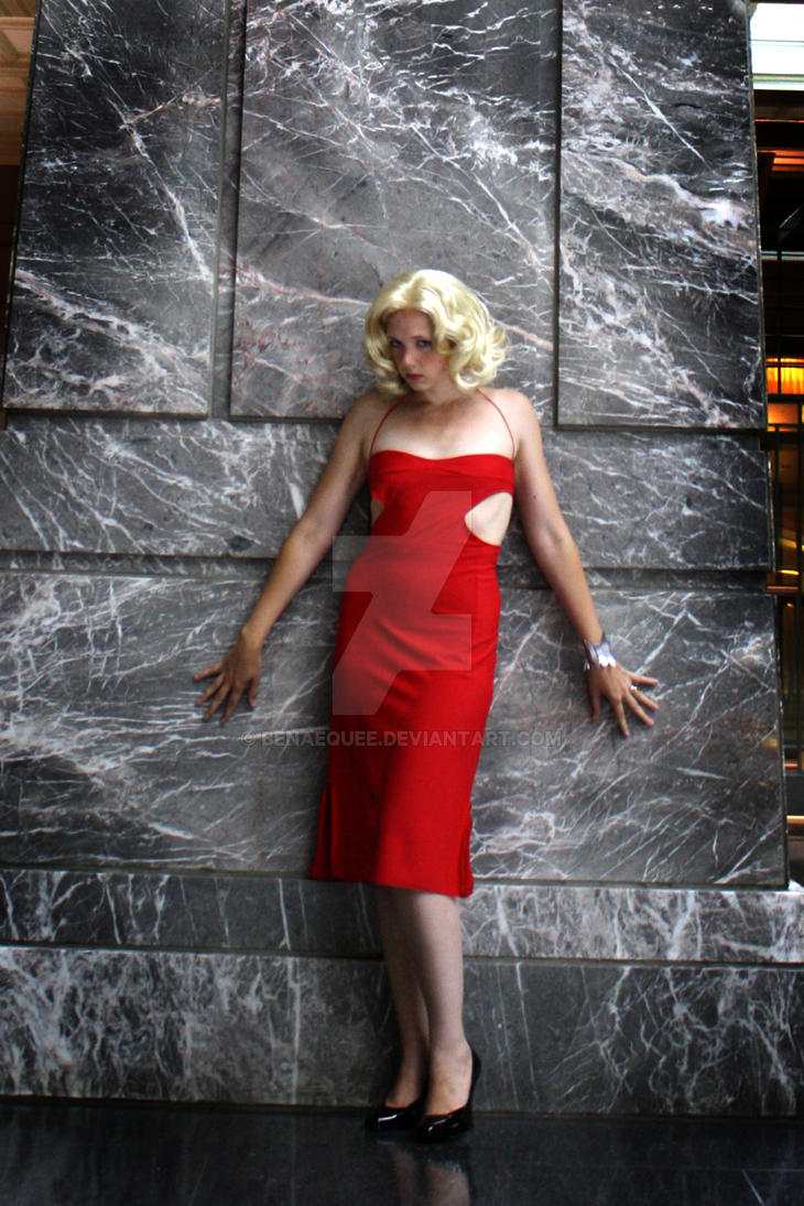 Caprica Six Red Dress by BenaeQuee