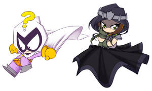 Princess Kenny and Mysterion- Palette Swap