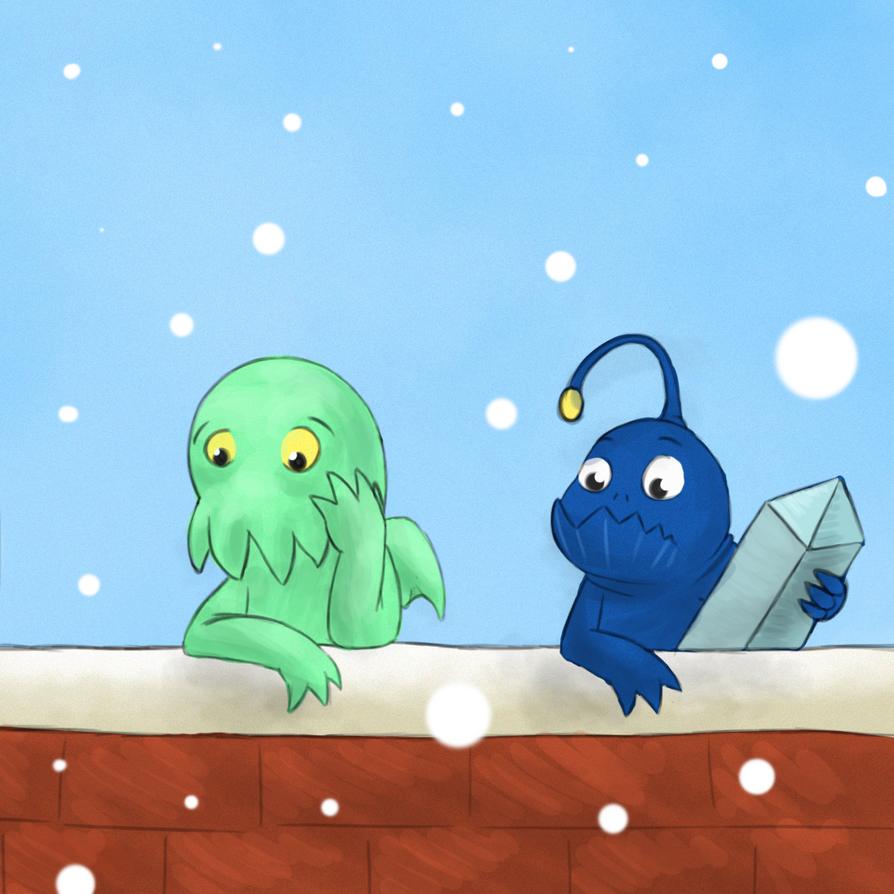 Its a Cthulhu Christmas by HPLovelock