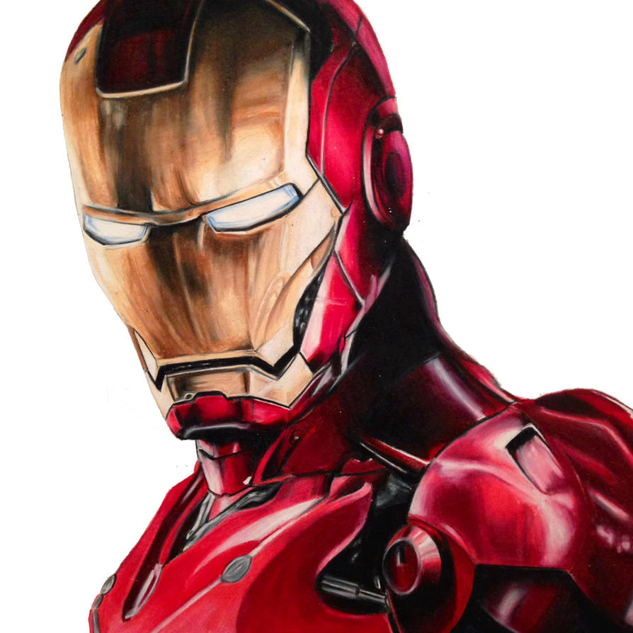 Salut à tous ! Iron_man_colored_pencil_by_imnotkenny-d6tqqiu
