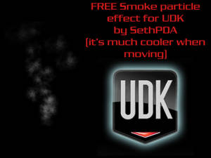 FREE Smoke particle for UDK