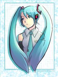 Vocaloid Miku by Trinity630