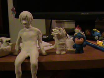 Clay Figure Progression by Trinity630