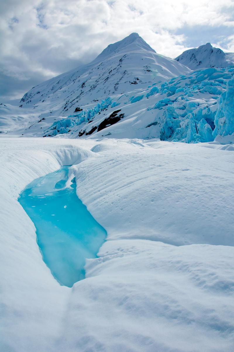 Portage Glacier Pool by mikewheels