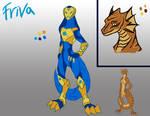 Character Reference sheet: Friva