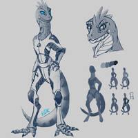 Lizard Character Sketch