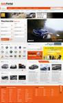 Auto portal webdesign