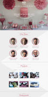 TheDeliciousCake PSD Template - Light Version
