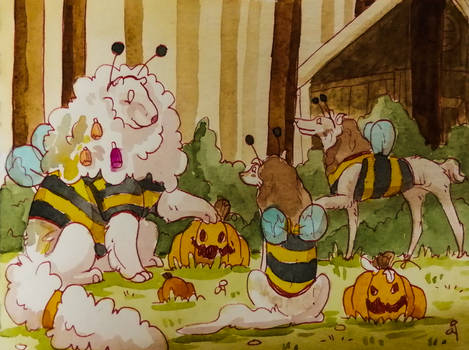 Tokoween   Busy little bees