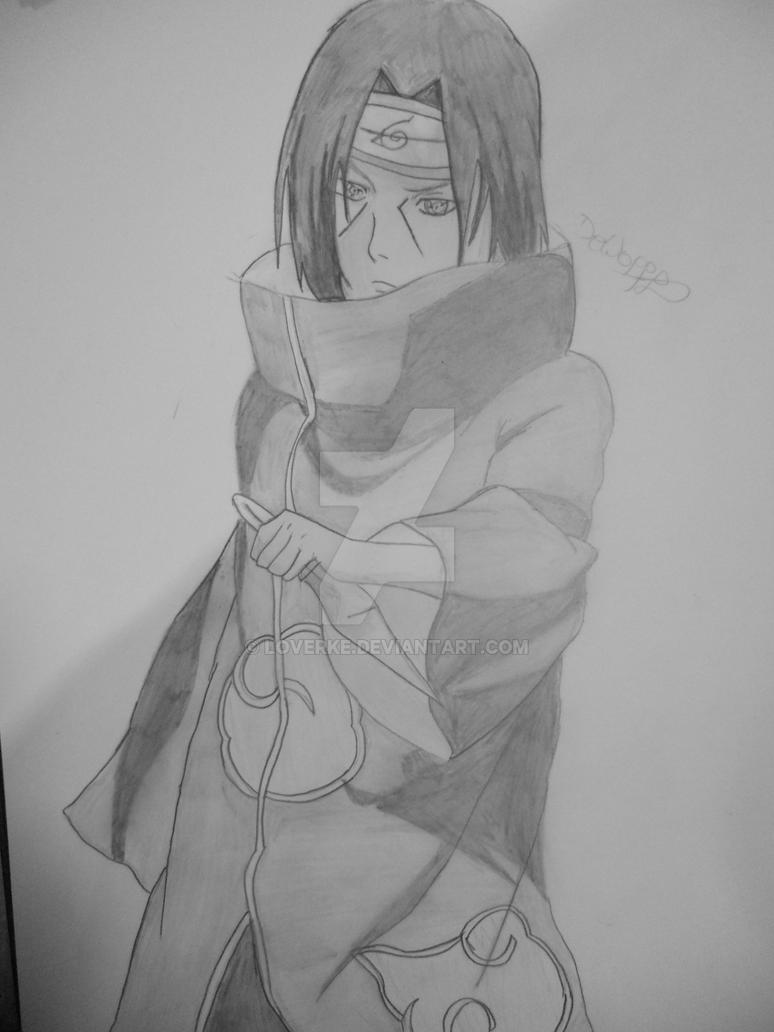Itachi Uchiha by Loverke