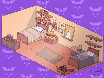 Kris and Asriels Bedroom
