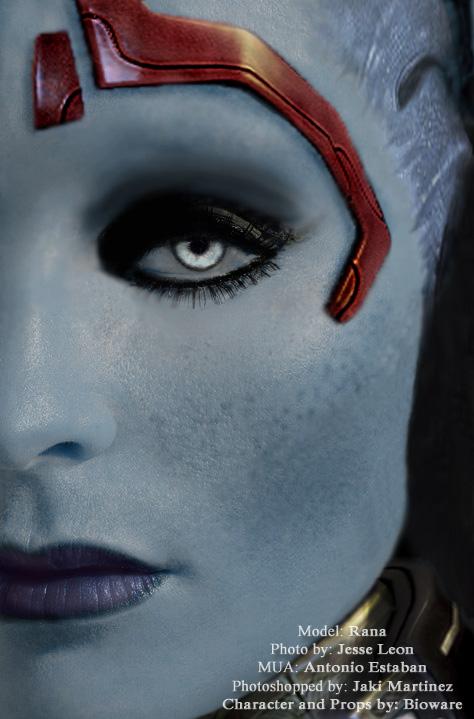 Rana as Samara Mass Effect 2 by Fantaisie-Triste