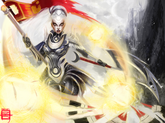 League of Legends Digi-Art Throwdown Diana