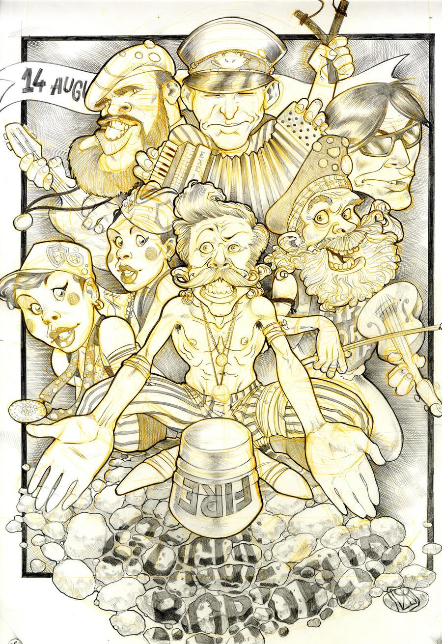 gogol bordello poster by ozzie325