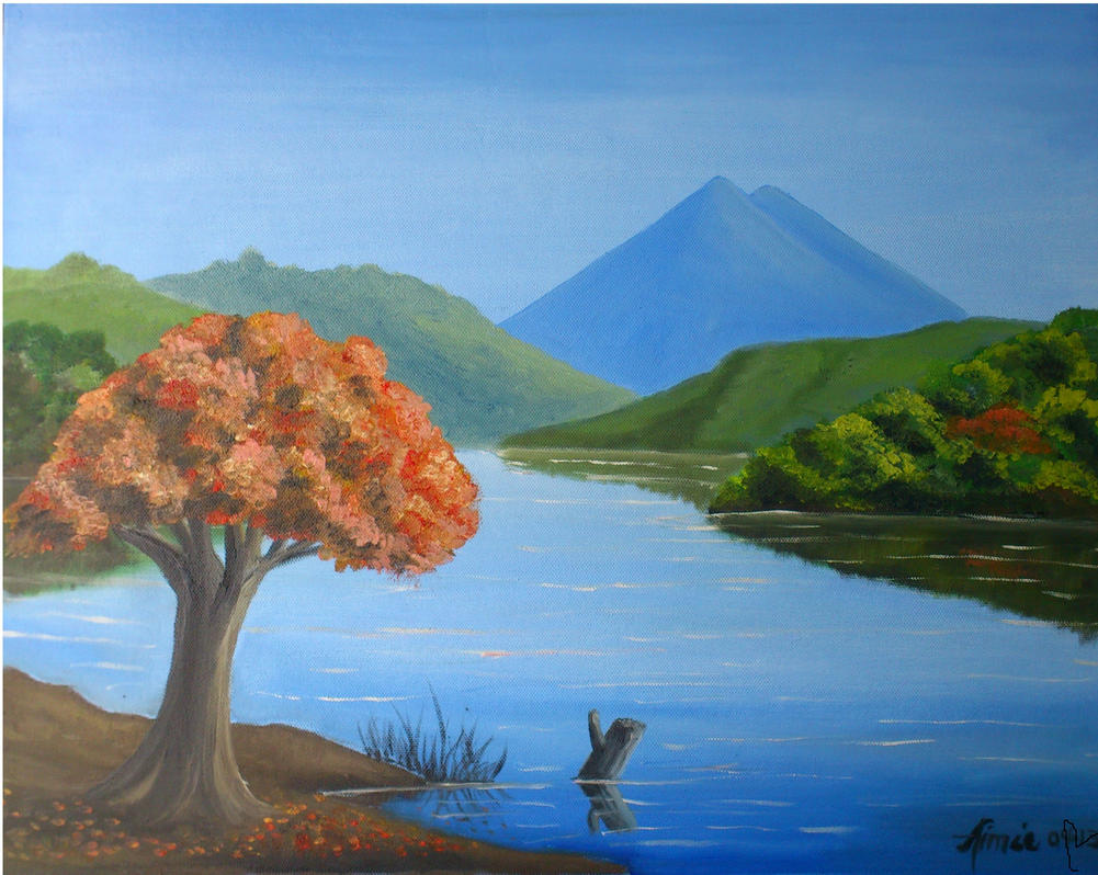 Arbol de fuego by aimee69 on deviantart for Arbol de fuego jardin
